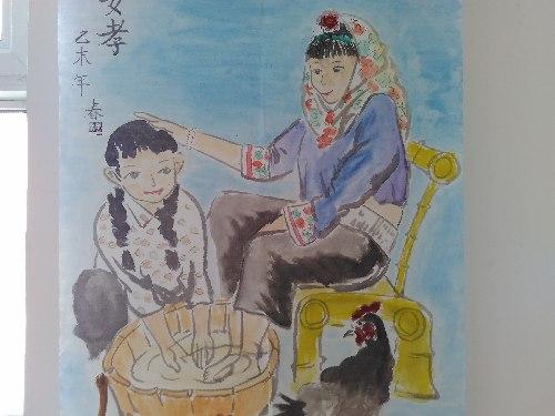 """惠安国寿""""中国人寿杯""""少儿绘画作品展举办"""